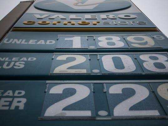 AP GAS PRICES A USA TX