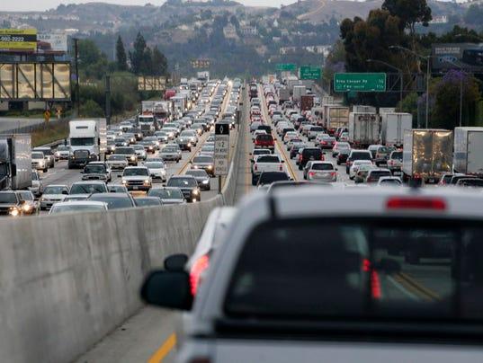 AP INFRASTRUCTURE GROWING GRIDLOCK A USA CA