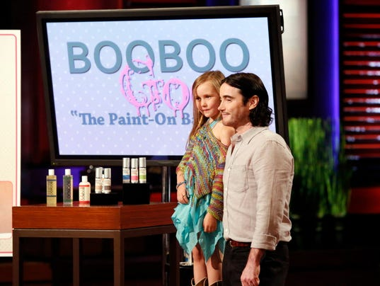 Boo goo on abc s television show quot shark tank quot photo kelsey mcneal
