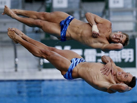 3 dives by russian olympic diver 2016