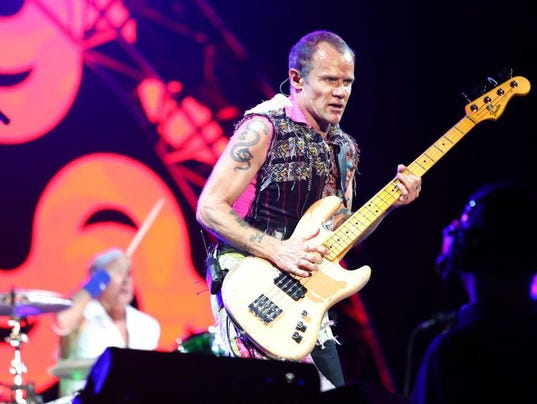 Lollapalooza 2016 - red hot chili peppers