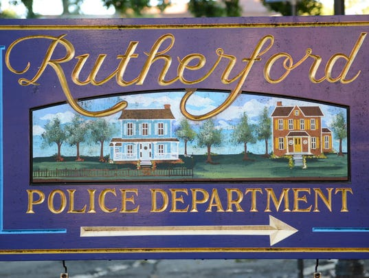 RUTHERFORD POLICE BLOTTER