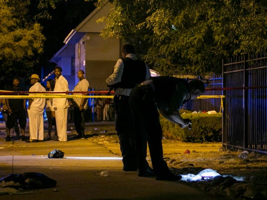 AP CHICAGO VIOLENCE A USA IL