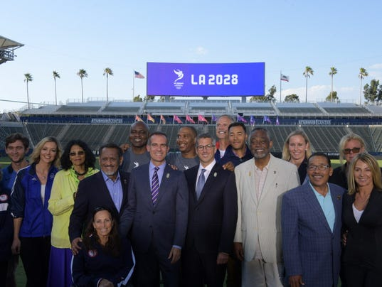 USP OLYMPICS: LOS ANGELES 2028 OLYMPIC AND PARALYM S OLY USA CA
