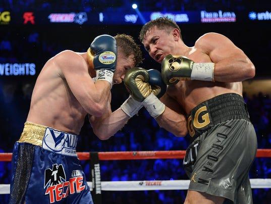 Canelo-GGG-fight-photo