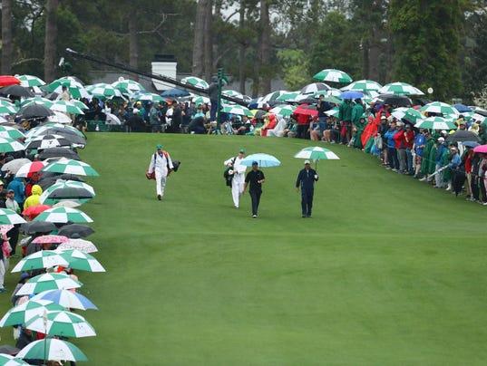 USP PGA: MASTERS TOURNAMENT - THIRD ROUND S GLF USA GA