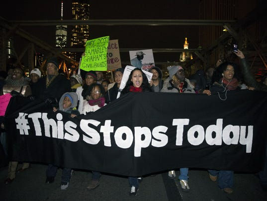 AP POLICE CHOKEHOLD DEATH A USA NY