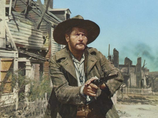 "Eli Wallach stars in ""The Good, the Bad and the Ugly"""