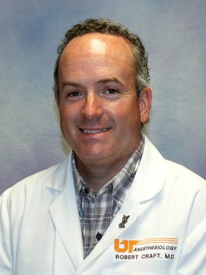 Robert Craft, chief manager of University Anesthesiologists and chairman of the UT Department of Anesthesiology