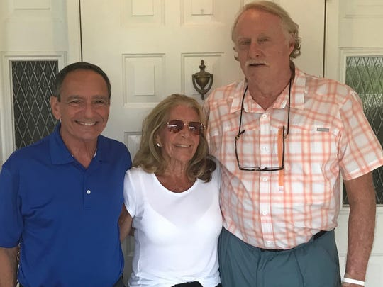 Hobe Sound residents, from left, Bruce Montefusco, Suzan King Carr and Mike Underwood oppose incorporation of the town.
