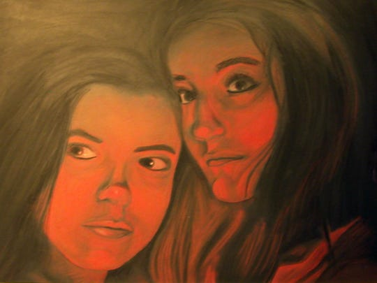 """""""Red Steele,"""" a chalk pastel by Jaime Jacoby of East Henderson High, was Best in Show in the 2016 Artists of Tomorrow exhibition. The 2017 show opens March 17."""