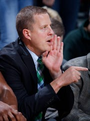 Michigan State basketball assistant coach Dane Fife
