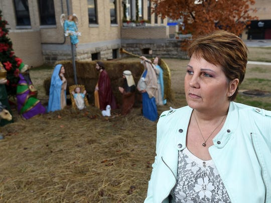 Dessa Blackthorn, of Mountain Home, won a lawsuit challenging the nativity scene displayed on the Baxter County Courthouse lawn. A federal judge ruled if the county allows a nativity scene on the courthouse lawn, it must allow other displays of faith.