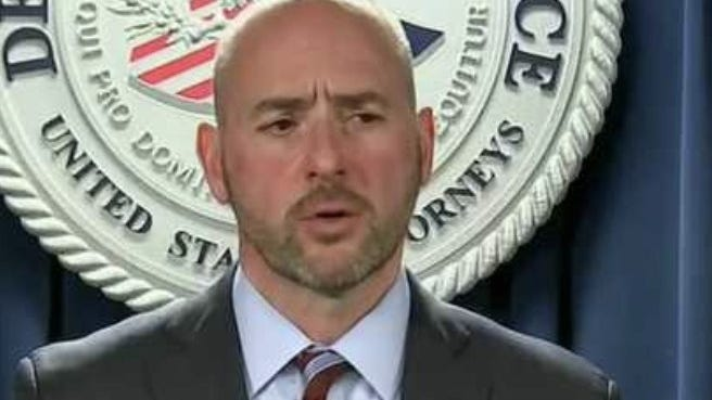 U.S. Attorney Andrew Lelling said the gang is responsible for a litany of crimes including killings, sex trafficking, drug trafficking, and armed robbery. Eleven search warrants are being executed in Boston and other communities in the area, including Fall River and Providence, Rhode Island, he said.