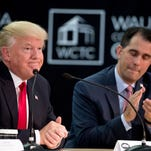 Able-bodied adults will have to work for Medicaid, under plan from Gov. Scott Walker, Trump