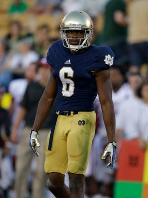 KeiVarae Russell was expected to be one of Notre Dame's top defenders this year.