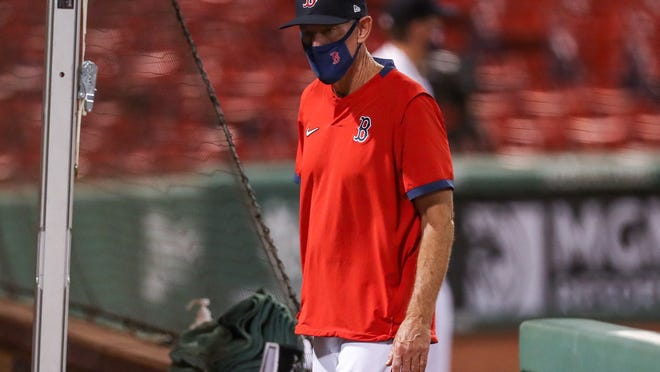 """""""The last few days were a little rough,"""" Red Sox manager Ron Roenicke said. """"It will be good to know what we have here and who we're going with."""""""