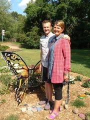 Milford couple Leah and Craig Bennett, shown Thursday