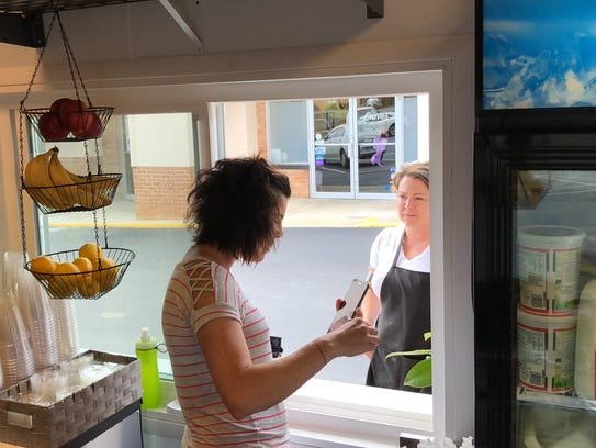 The Queen Bean Drive-Thru Coffee has opened in Staunton's