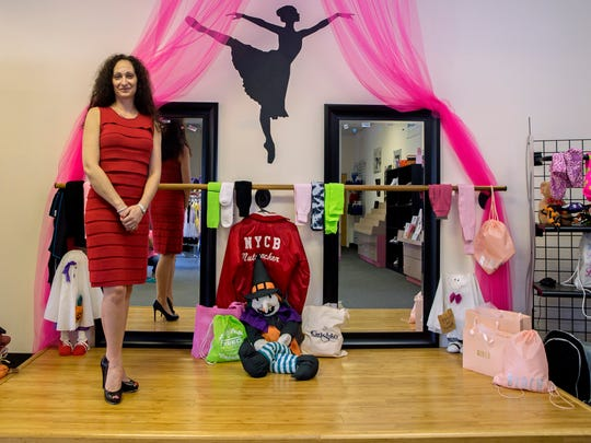 Kelly's Dance Boutique, an Eatontown business owned by Kelly Napolitano, which provides a large range of dance, cheer and gymnastics wear and accessories.