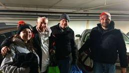Original members of Maslow's Army are (from left)  Susan Landis, Samuel Landis, Bruce Berger, and Daniel Gose.