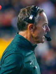Michigan State Spartans head coach Mark Dantonio.