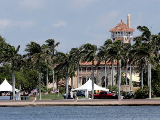 Donald Trump's Mar-a-Lago resort in Palm Beach, Fla., in April 2017.