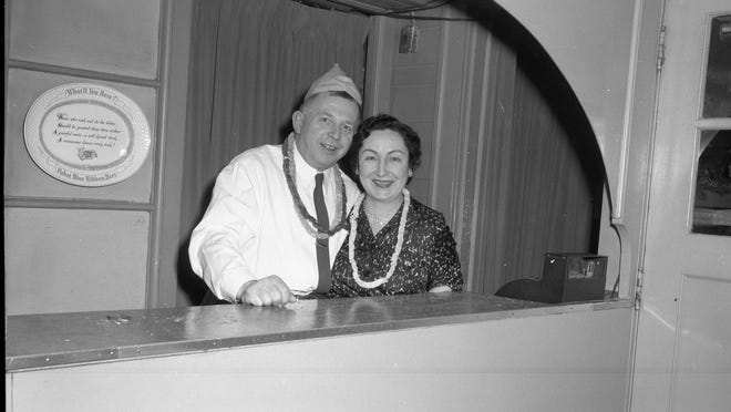 Mysterious photos show a 1957 New Year's Eve party at a Salem restaurant. Do you recognize where or who is featured? Staff of the Willamette Heritage Center are looking for information for an exhibit this summer featuring restaurant history in Salem.