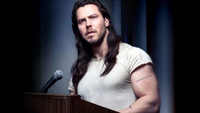 Andrew W.K.brings his first-ever nationwide speaking tour to Arden's Gild Hall (2126 The Highway) Saturday.