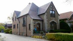 Beth and Danny Massaro's two-story, 1919 Tudor home