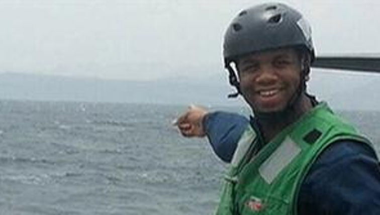 Sonar technician Anthon Adams remained in critical