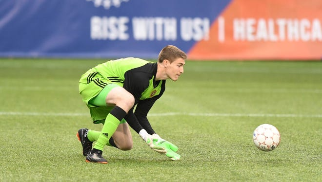 Dan Lynd, a 2012 graduate of Penfield who played at the University of Pittsburgh, has won the starting goalie job for the Pittsburgh Riverhounds of the USL.