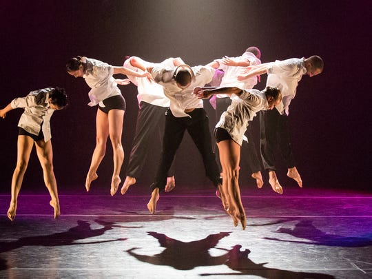 The Koresh Dance Company is performing at the Clayton Center for the Arts.