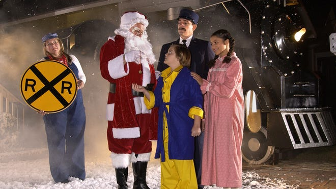 Take a ride on the Polar Express in Milton.