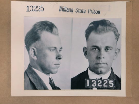 John Dillinger, notorious American gangster, was once a promising semi-pro baseball player