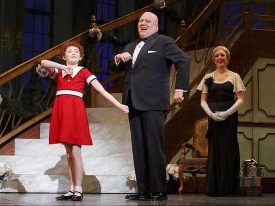 "Catch ""Annie""  on April 1 at Stephens Auditorium."
