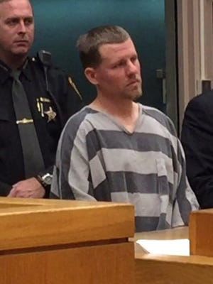 Wesley Landers, 31, appears in Hamilton County court on Friday.
