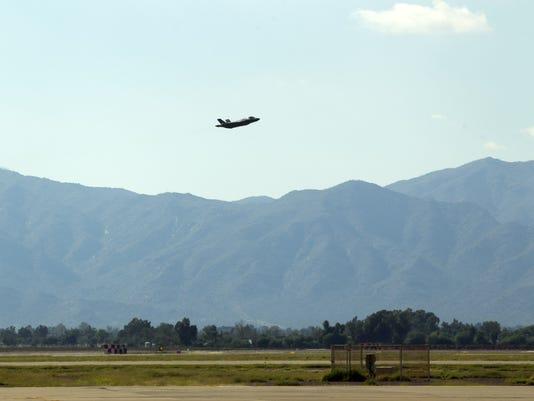 F-35 at Luke Air Force Base