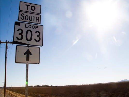Glendale annexation Loop 303
