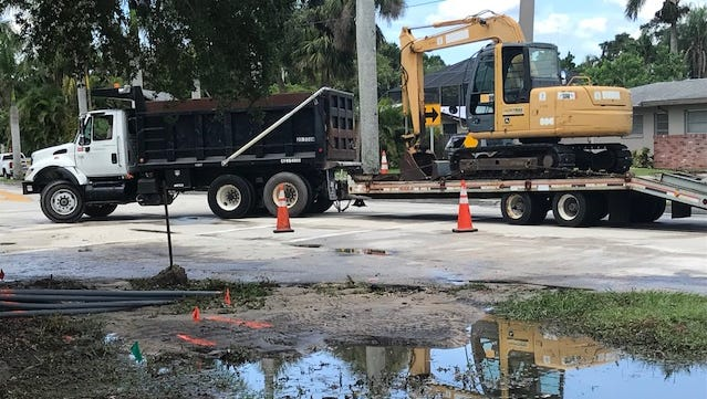 The Fort Myers Police Department had advised motorists to avoid the area around McGregor Boulevard and Royal Palm Square Boulevard due to a water main break on Tuesday.