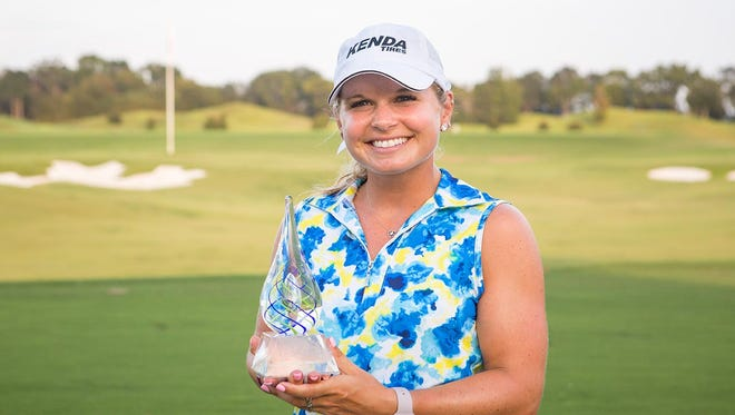Lindsey Weaver shot a 4-under, 68 to win the Guardian Championship.