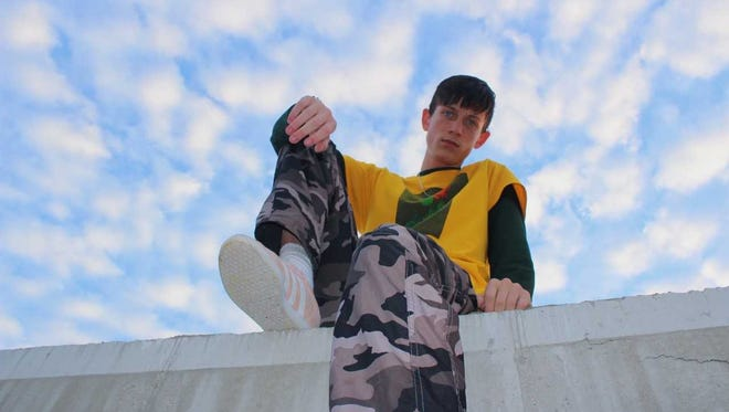 """White Lake's Luke """"BigLuke"""" Wiemer has carved out a following with his rap and R&B music."""