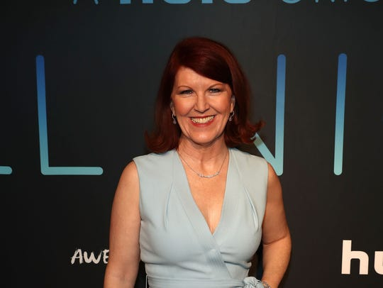Kate Flannery.