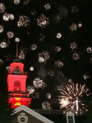 The Dover Days fireworks show is one of the favorite events of the festival.