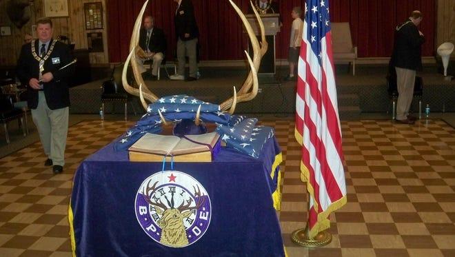 The Reno Elks Lodge celebrates a recent Flag Day.