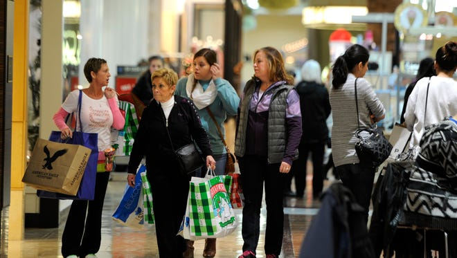 Malls across the country expect a flood of shoppers for the holidays.