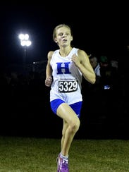 Maggie Schroeder of Highlands heads into the final