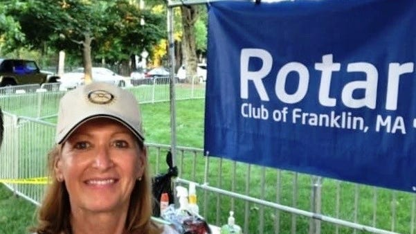 The Rotary Club of Franklin this summer welcomed new president Judith A. Alfred.