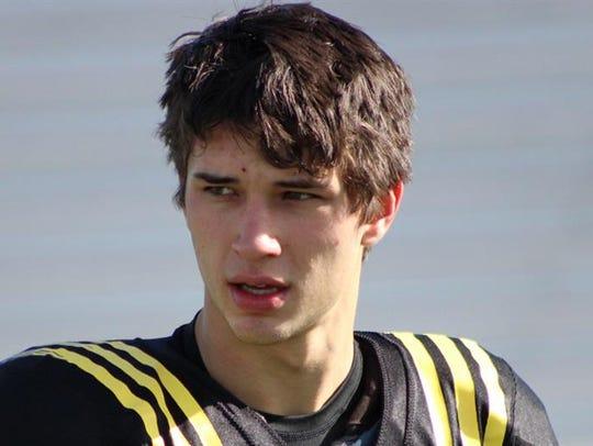 Michigan true freshman Dylan McCaffrey has spent the 2017 season as a redshirt.