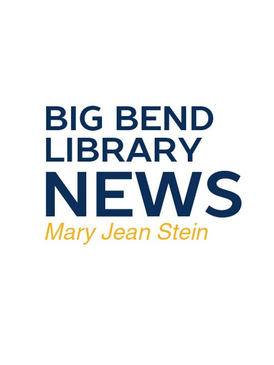 Big Bend Library News